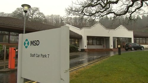 280 jobs are to go at MSD in Co Wicklow by the end of 2015