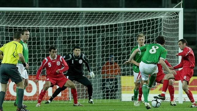Ireland beat Georgia 2-1 in Croke Park in 2009