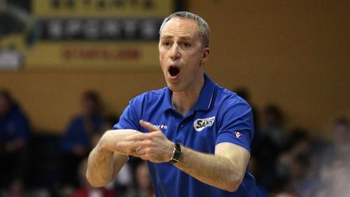 DCU Saints head coach David Donnelly