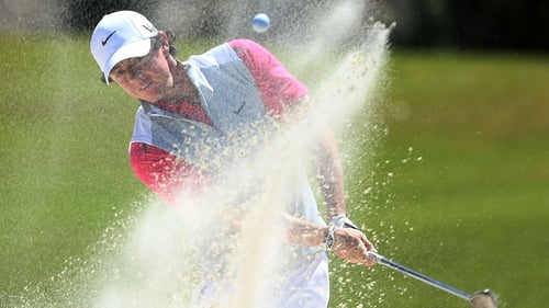 Rory McIlroy is down for a 1.41pm tee off
