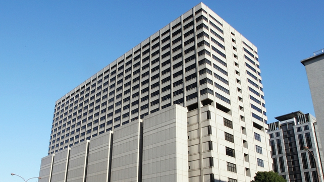 Tokyo District Court houses dozens of court rooms, cut off from any natural sunlight