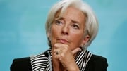 Christine Lagarde said China's economy was slowing as it adjusts to a new growth model