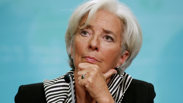 International Monetary Fund chief Christine Lagarde says time is slipping by