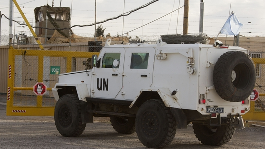 21 UN peacekeepers kidnapped by Syrian opposition