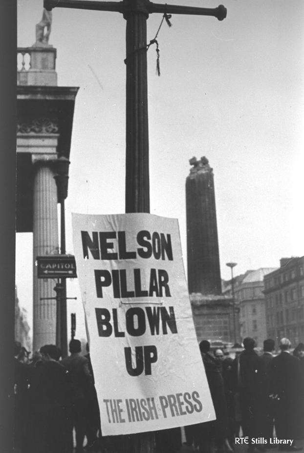 Ruins of Nelson's Pillar