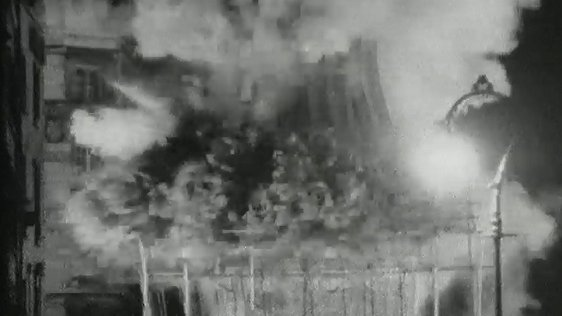 Demolition of Nelson Pillar 14 March 1966