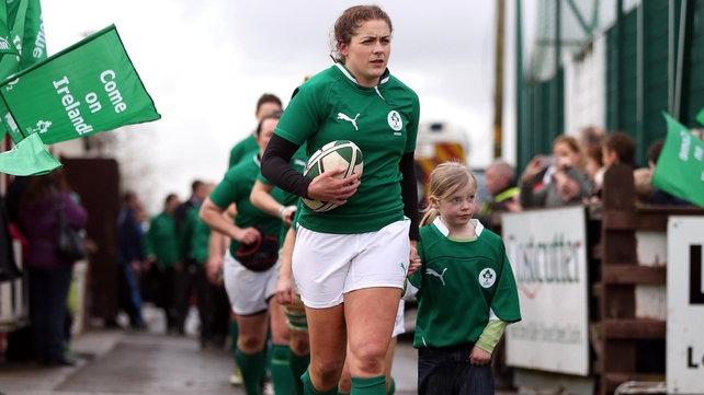 Ireland captain Fiona Coghlan - Ireland are the defending Women's Six Nations Grand Slam champions