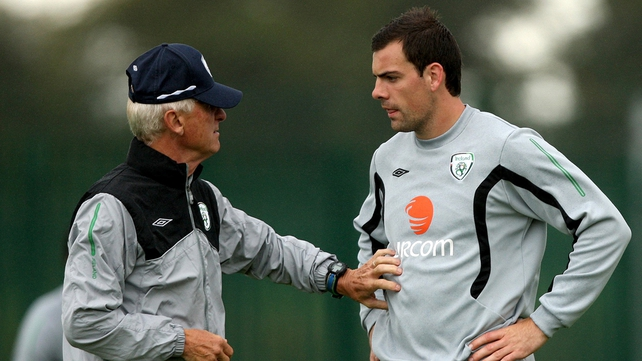 Darron Gibson fell out with Giovanni Trapattoni after Euro 2012