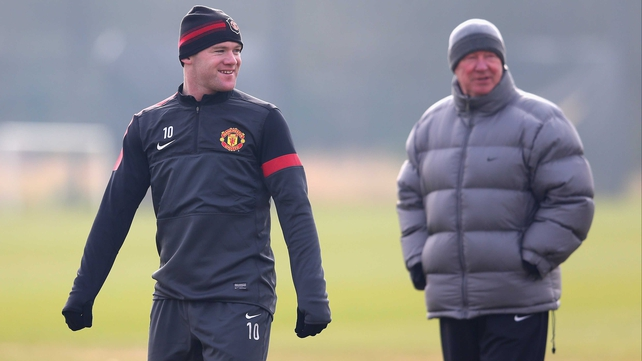 It was all smiles during a training session earlier in the week