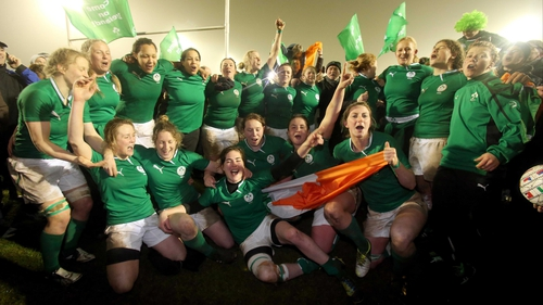 Ireland beat France on Friday night, but were crowned Six Nations champions for the first time when Italy failed to beat England today.