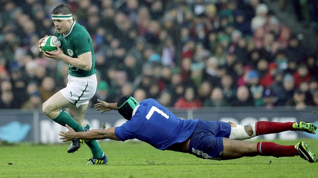 Brian O'Driscoll will continue to line out for Ireland and Leinster