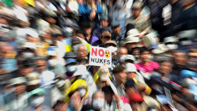 A recent survey showed about 70% of Japanese want to phase out nuclear power eventually