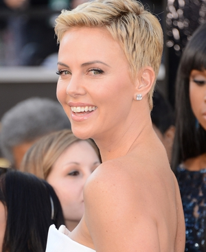 It looks like Charlize Theron is launching a fashion line
