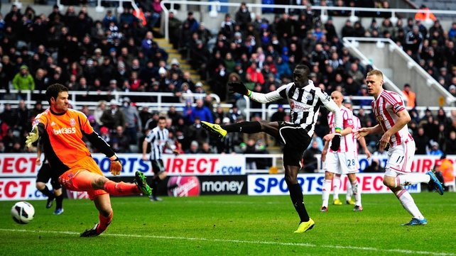 Cisse's winning goal came two minutes into injury time