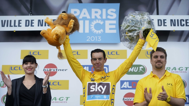 Richie Porte has won the Paris-Nice