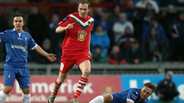 Colin Healy and Cork will be hoping to build on their win over Bohemians