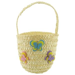 Raffia Easter basket, €5.50
