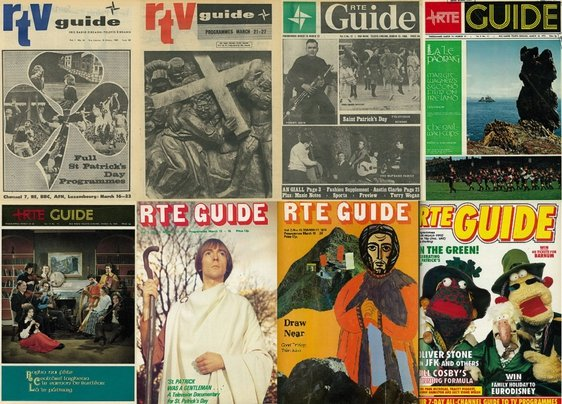 RTÉ Guide St. Patrick's Day Covers
