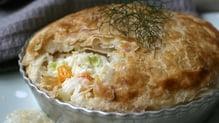 Seafood Chowder Pies