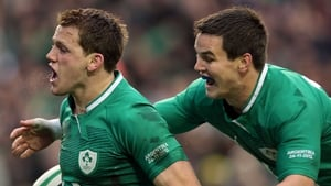 Craig Gilroy (left) and Jonathan Sexton (right) are both fit to face Italy on Saturday