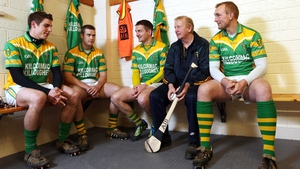 Currams' (second from left) absence will surely be felt as the Offaly chase a first national title