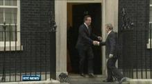 Enda Kenny meets British Prime Minister David Cameron