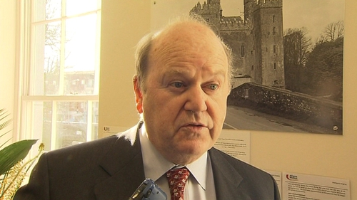 Michael Noonan said banks are expected to report back to Government on their plans to cut costs