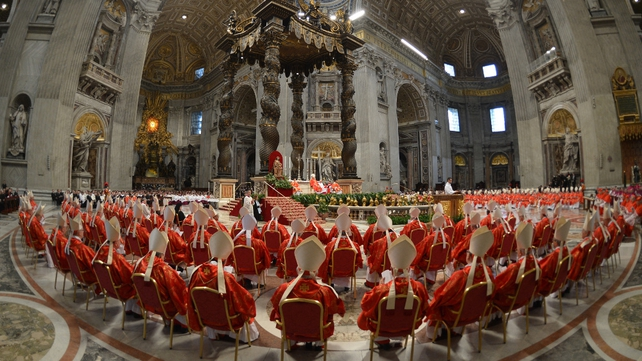 Mass to mark the opening of the conclave was held this morning