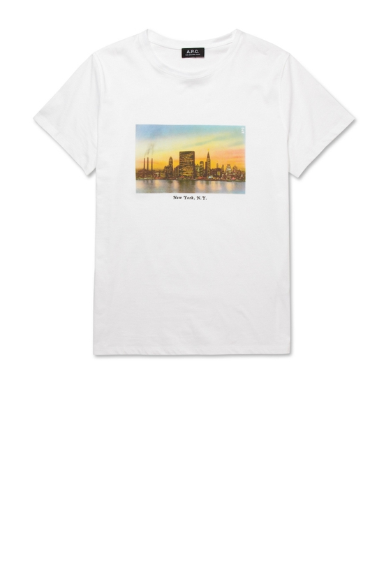 APC NYC skyline t-sh
