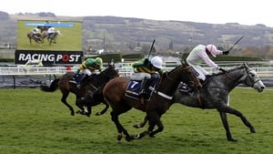 Champagne Fever and Ruby Walsh push on to win the first race of the Festival