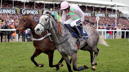 Ruby Walsh steered Champagne Fever to victory at Cheltenham