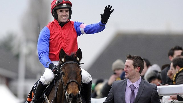 Ruby Walsh was the star of the show on the opening day at Cheltenham