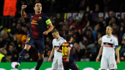 Barcelona dispose of Milan with some ease at the Nou Camp