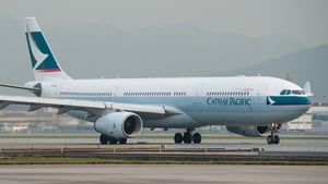 Cathay Pacific to suspend its Dublin-Hong Kong route until the end of March