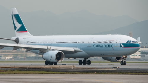 Cathay Pacific is heavily reliant on flights to - and over - mainland China