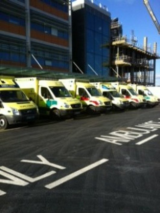 Waiting times for ambulances