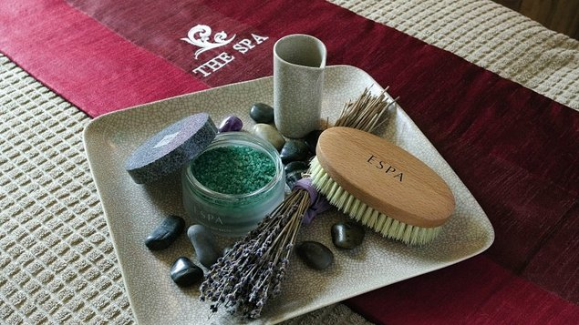 The spa is part of the ESPA portfolio