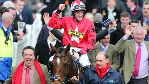 Sam Twiston-Davies partnered The New One to victory at the Cheltenham Festival