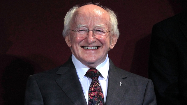 President Michael D Higgins says it is a time to remember the Irish community abroad