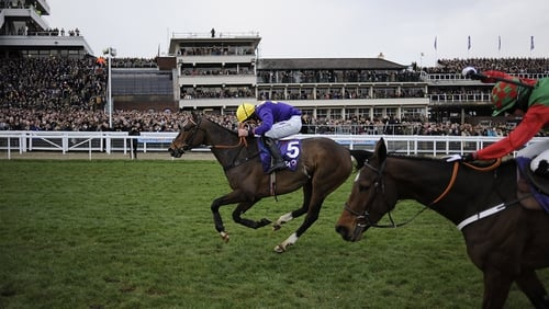 Lord Windermere will be ridden by Dougie Costello in the Hennessy Gold Cup