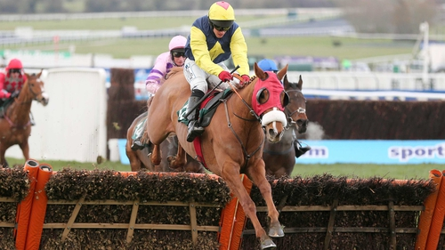 Flaxen Flare was a winner of last season's Fred Winter Hurdle at the Cheltenham Festival