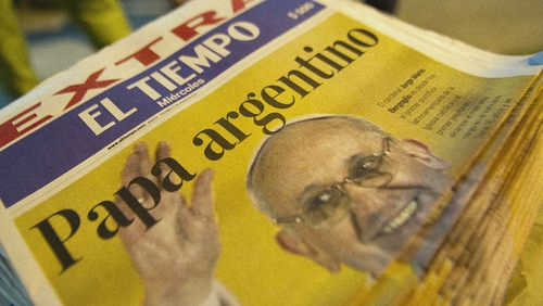 The election of Pope Francis made headlines across the world