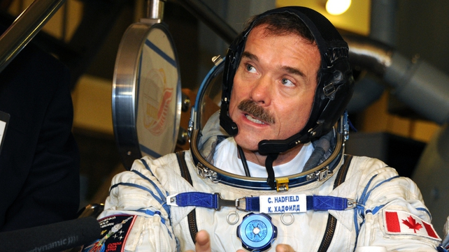 Astronaut Chris Hadfield has become the first Canadian to assume command of the space station