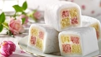 Dr Oetker's batten bites - Try these little mini versions of Battenberg, a British classic - great for Easter!