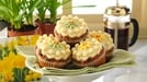 Dr Oetker's simnel cupcakes - Try these mini, personal-sized cupcake versions of the Easter classic cake