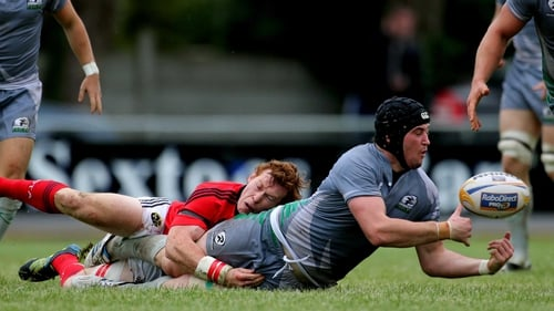 Danny Qualter has been awarded a senior contract by Connacht