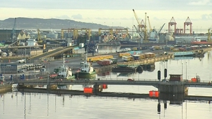 The searches took place in Dublin Port in October
