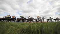 Cheltenham clerk of the course Simon Claisse says the going is improving on the racecourse