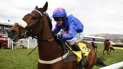 Cue Card claimed the Ryanair Chase at Cheltenham last year