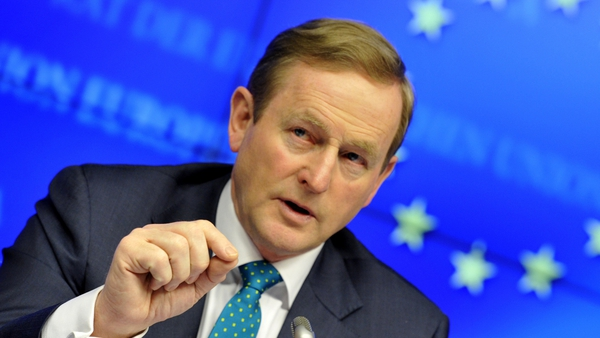 Enda Kenny said he expects a deal on EU budget by end of week